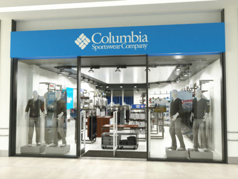 Columbia Sportswear shops by ALU